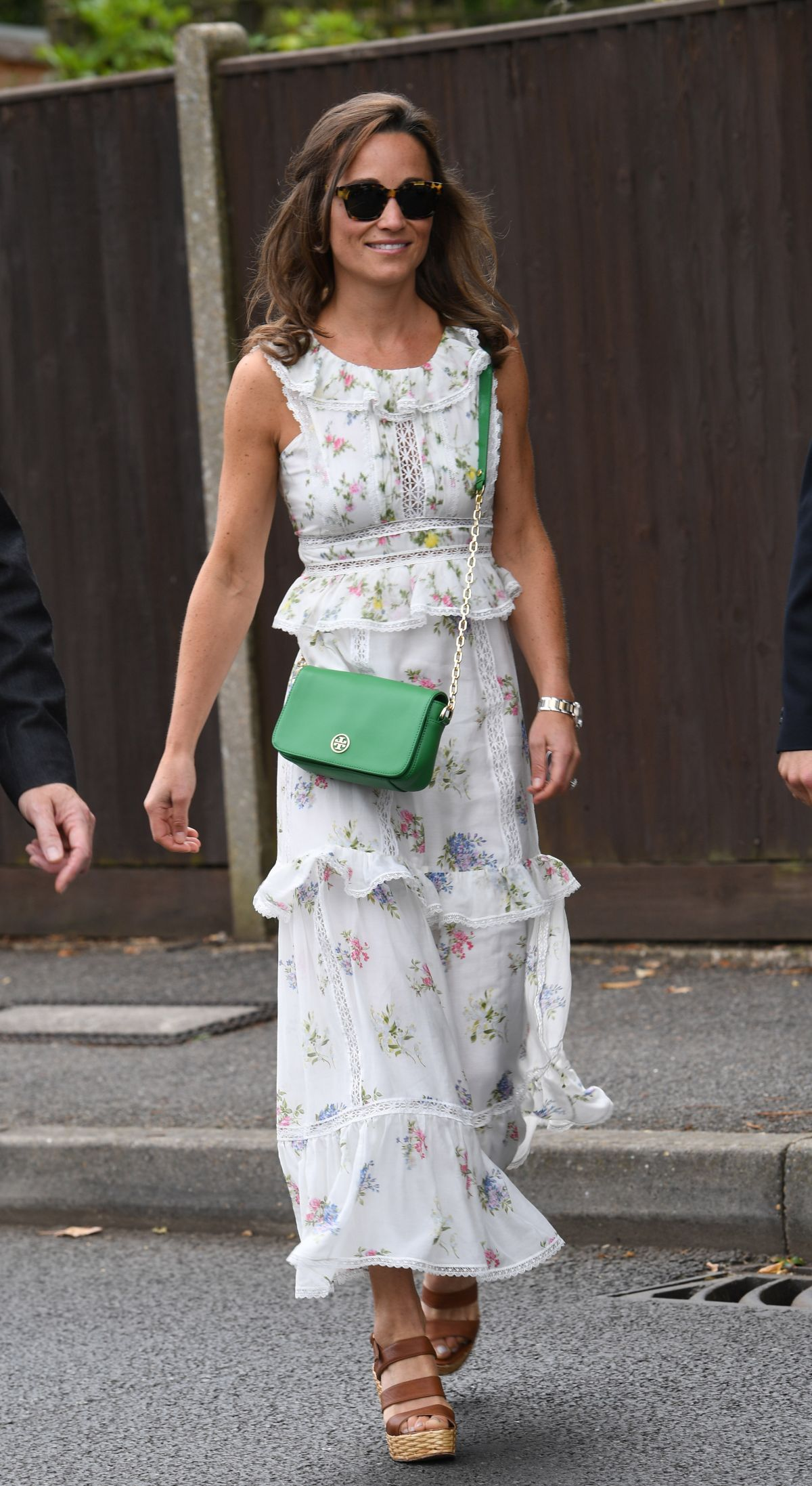 Pippa Middleton Out in Wimbledon