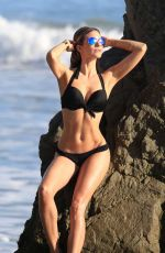 Rachel McCord At 138 Water Photoshoot on the beach in Miami