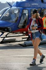 Rita Ora At a heliport in NYC