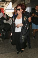 Sharon Osbourne Seen at the lax airport in LA