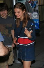 Stefanie Scott At the ArcLight Theater in Hollywood