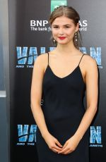 Stefanie Scott At Valerian and the City of a Thousand Planet Premiere in Hollywood