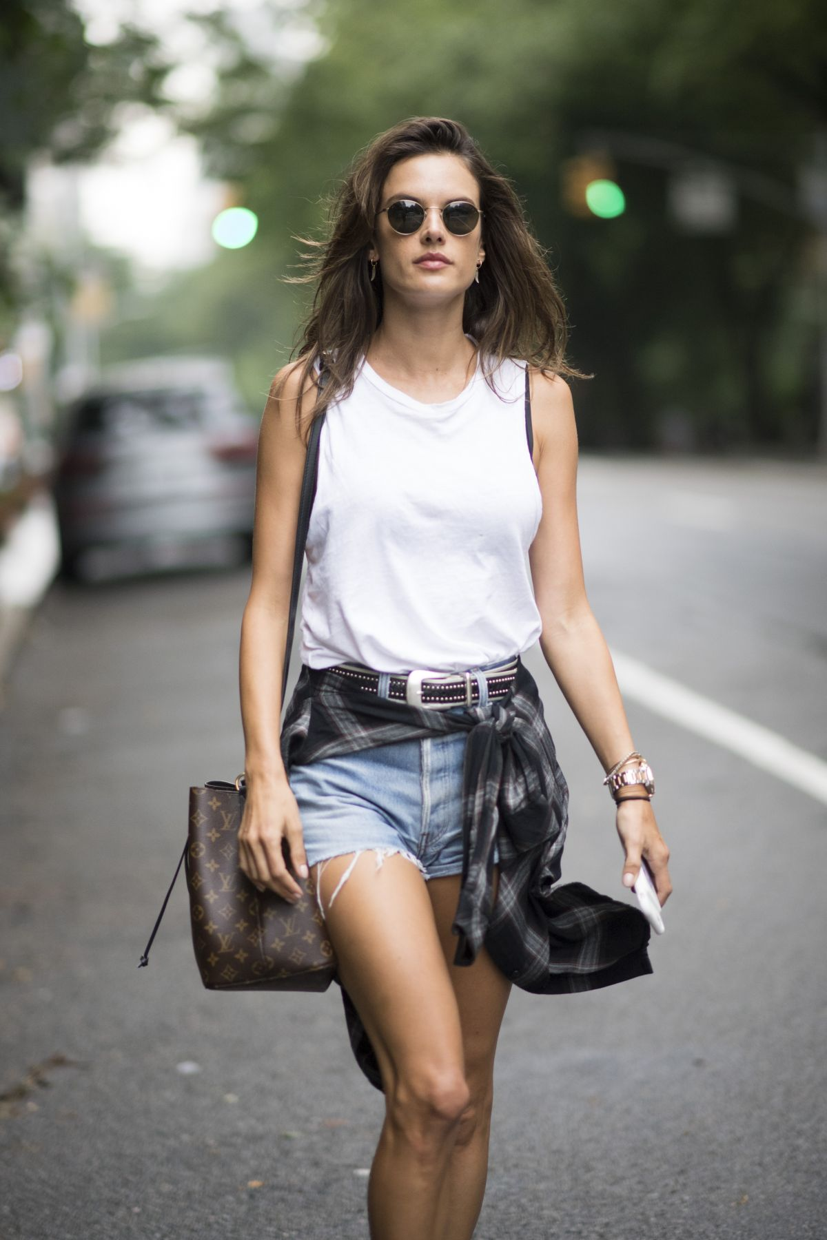 Alessandra Ambrosio Seen in the streets of Manhattan