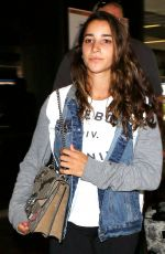 Aly Raisman Spotted at LAX Airport in LA