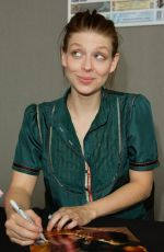 Amber Benson At Collectormania in Milton Keynes, England