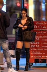 Ariel Winter Enjoys a date night with Levi Meaden at BOA in LA