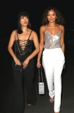 Ashley Madekwe Arrives at the Tings Magazine party at Nightingale Plaza. Los Angeles
