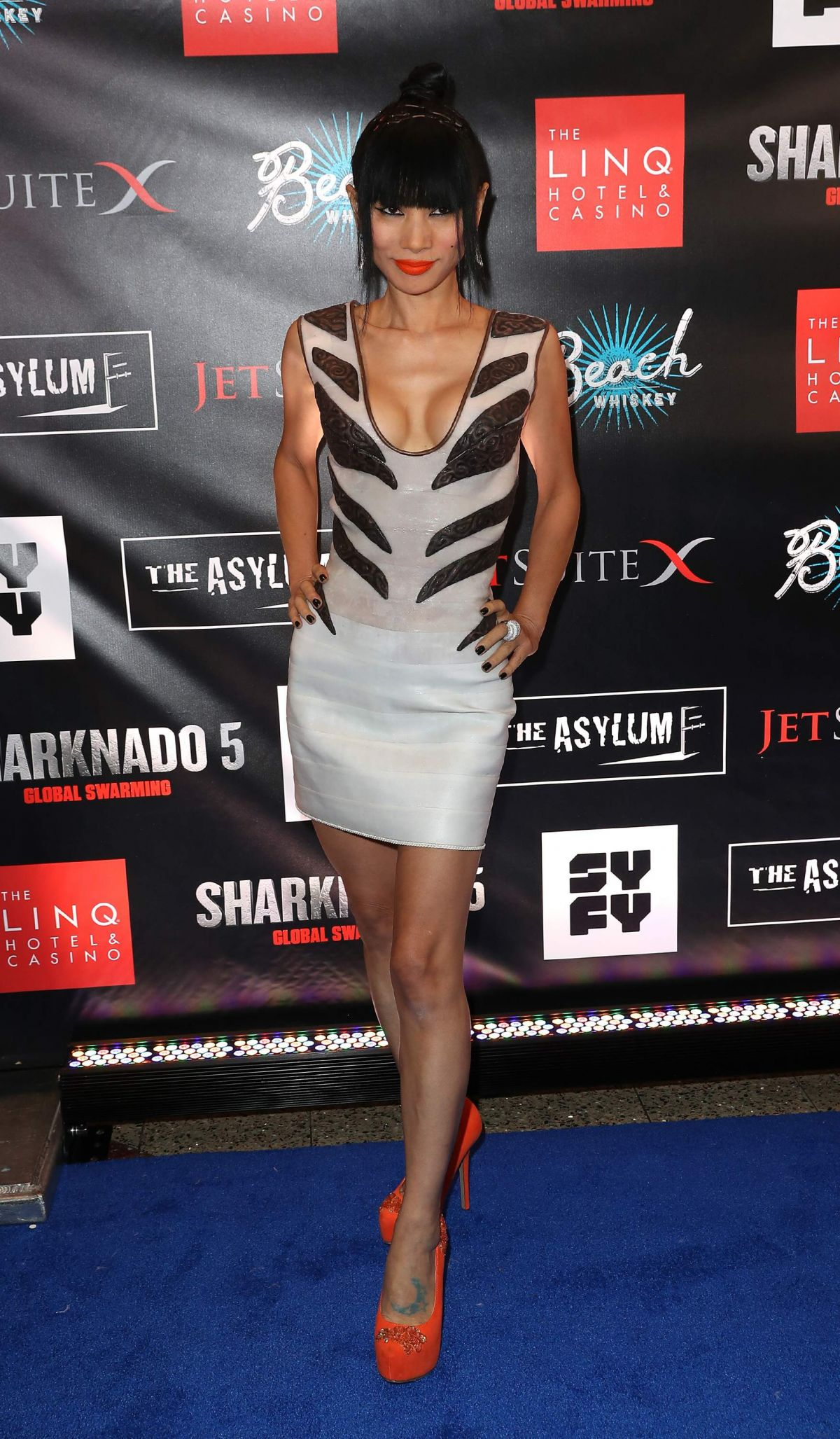 Bai Ling Attends The Sharknado 5 Premiere At The LINQ