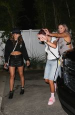 Bella Thorne Arrives home after a night supporting her sister