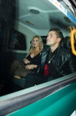 Brandi Glanville Heads out on a date in London