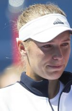Caroline Wozniacki At 2017 Rogers Cup in Toronto August