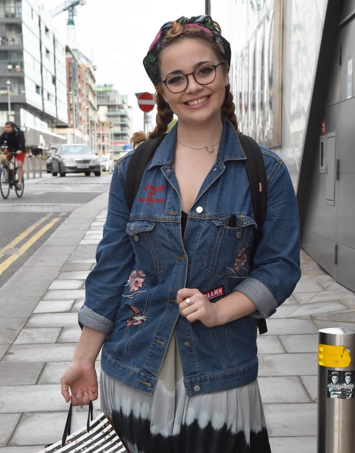 Carrie Hope Fletcher Attends the opening night of The Addams Family at Bord Gais Energy Theatre, Dublin