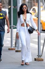 Chanel Iman Was spotted out in NY