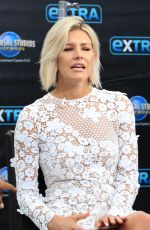 "Charissa Thompson Is seen at ""Extra"" in Los Angeles"