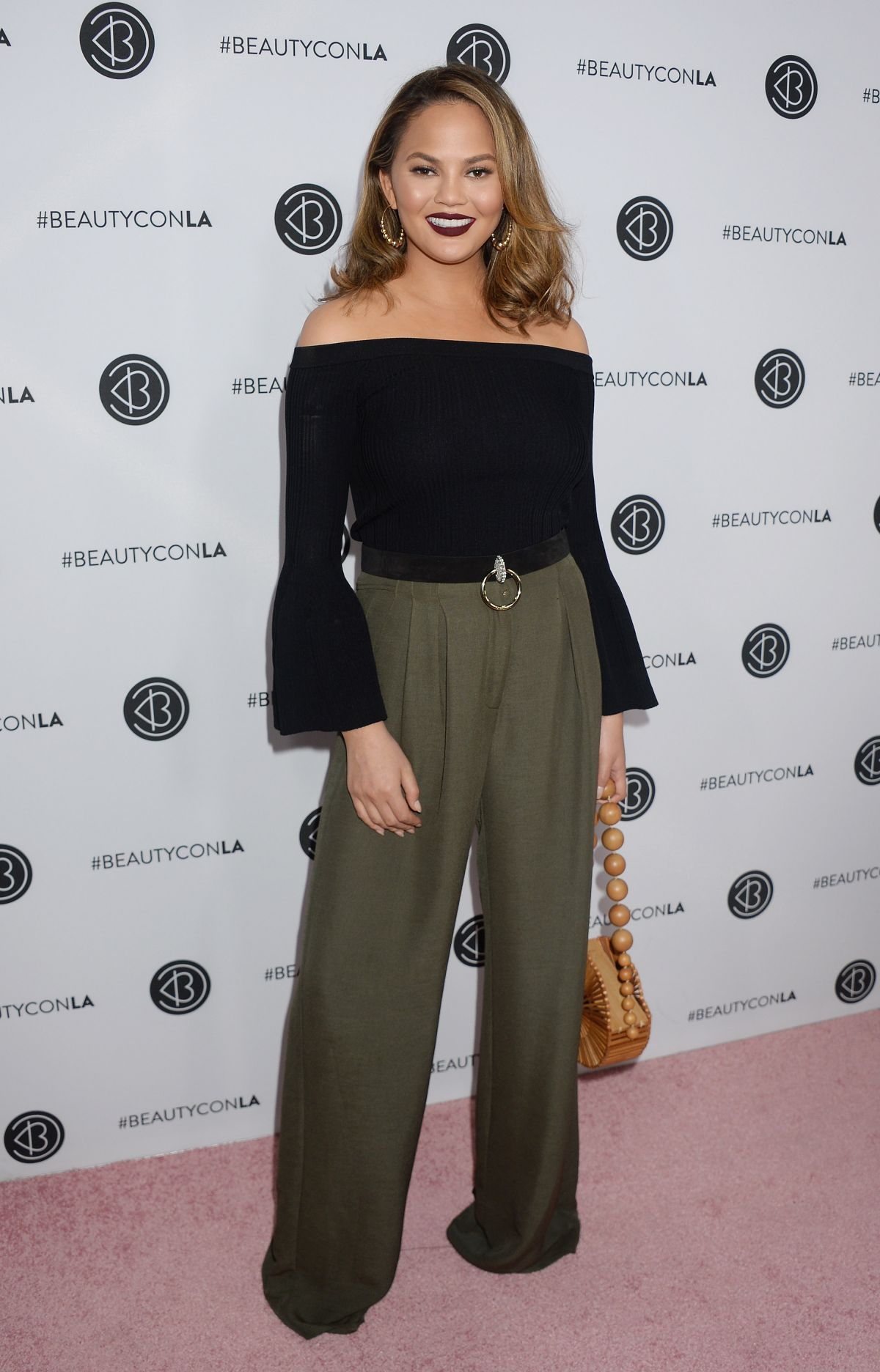 Chrissy Teigen At 5th Annual Beautycon Festival LA