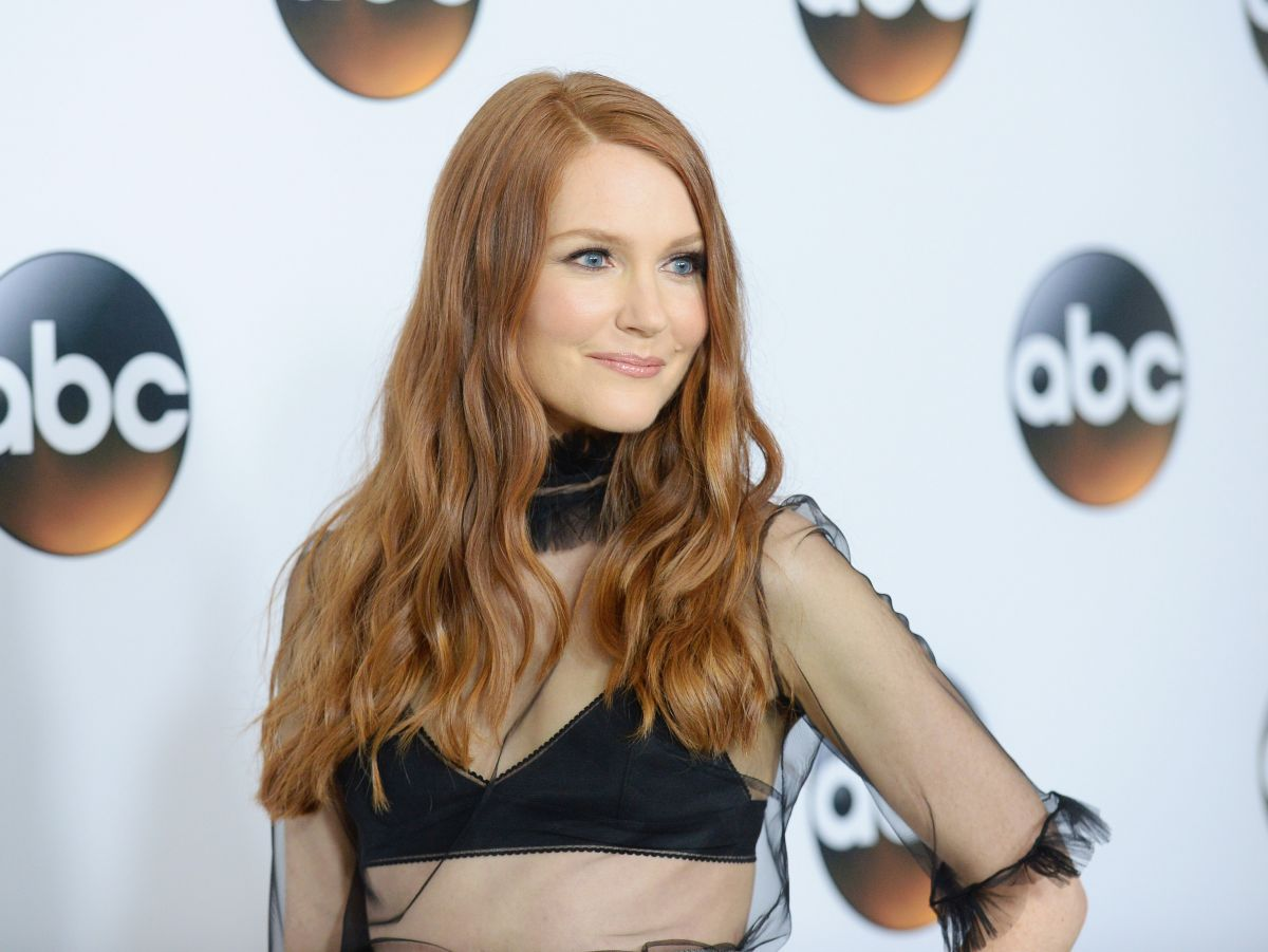 darby stanchfield at disney abc tca summer press tour in