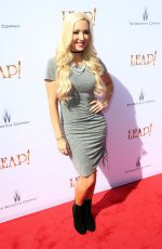 """Debbie Sherman At """"Leap!"""" Los Angeles Premiere held at Pacific Theatres at The Grove"""