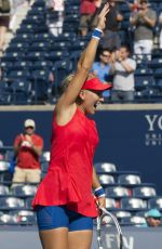 Ekaterina Makarova and Elena Vesnina Wins the Womens Double Final at the 2017 Rogers Cup in Toronto