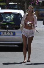 Eleonora Gaggero Out and about in ischia, Italy
