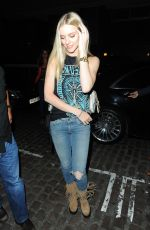 Elle Evans At the Chiltern Firehouse in London