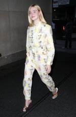 Elle Fanning At the