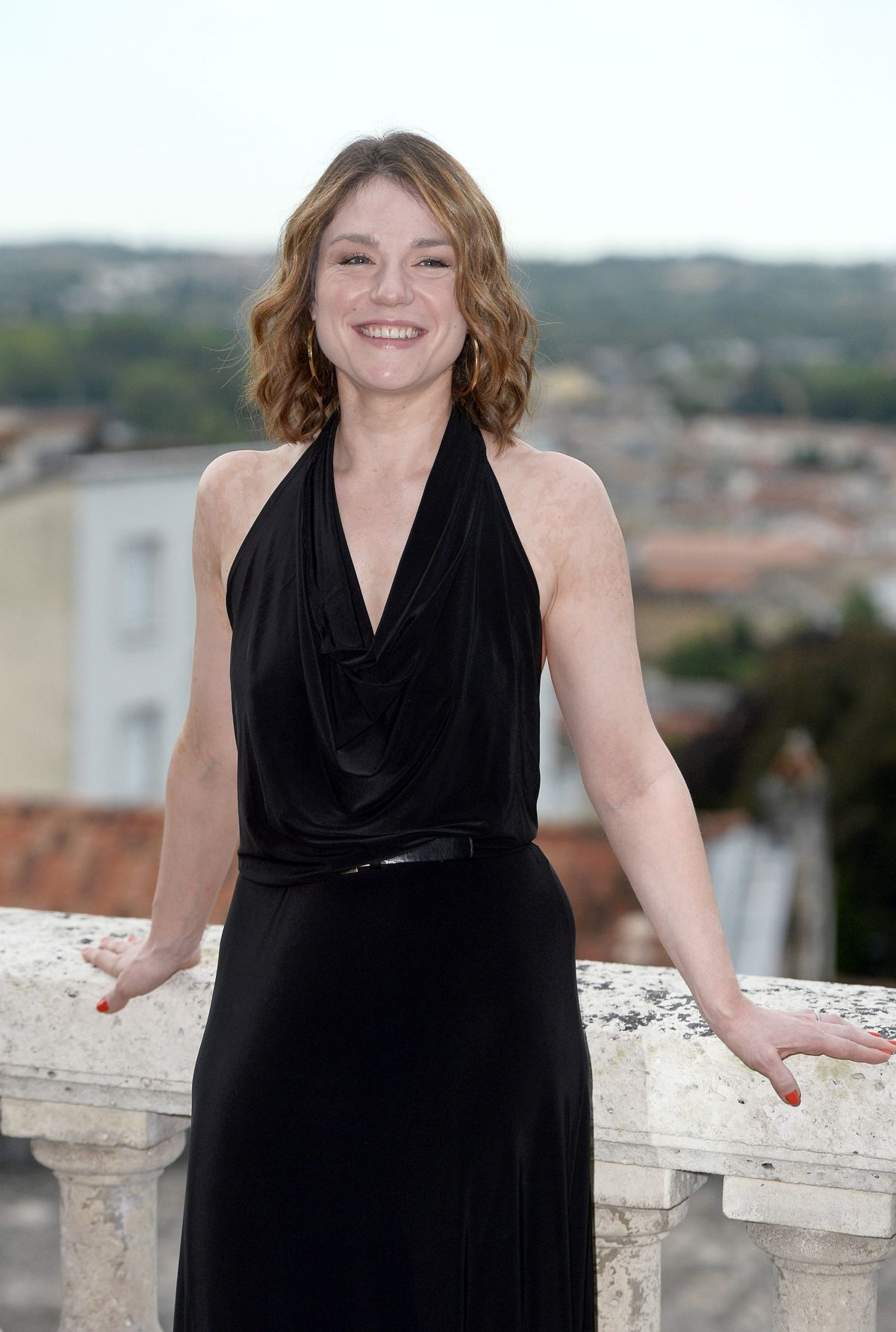 Emilie Dequenne At Francophone Film Festival, Angouleme, France