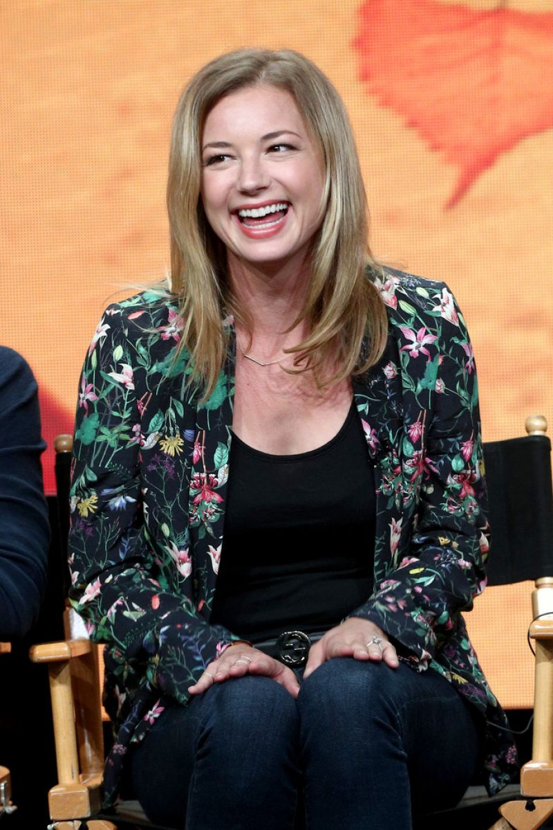 Emily VanCamp At 2017 Summer TCA Tour - Day 9 in Beverly ...