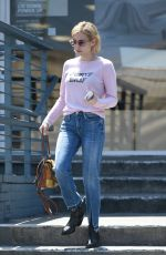 Emma Roberts Spotted running errands in LA