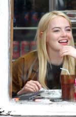 Emma Stone Eats lunch out in New York City