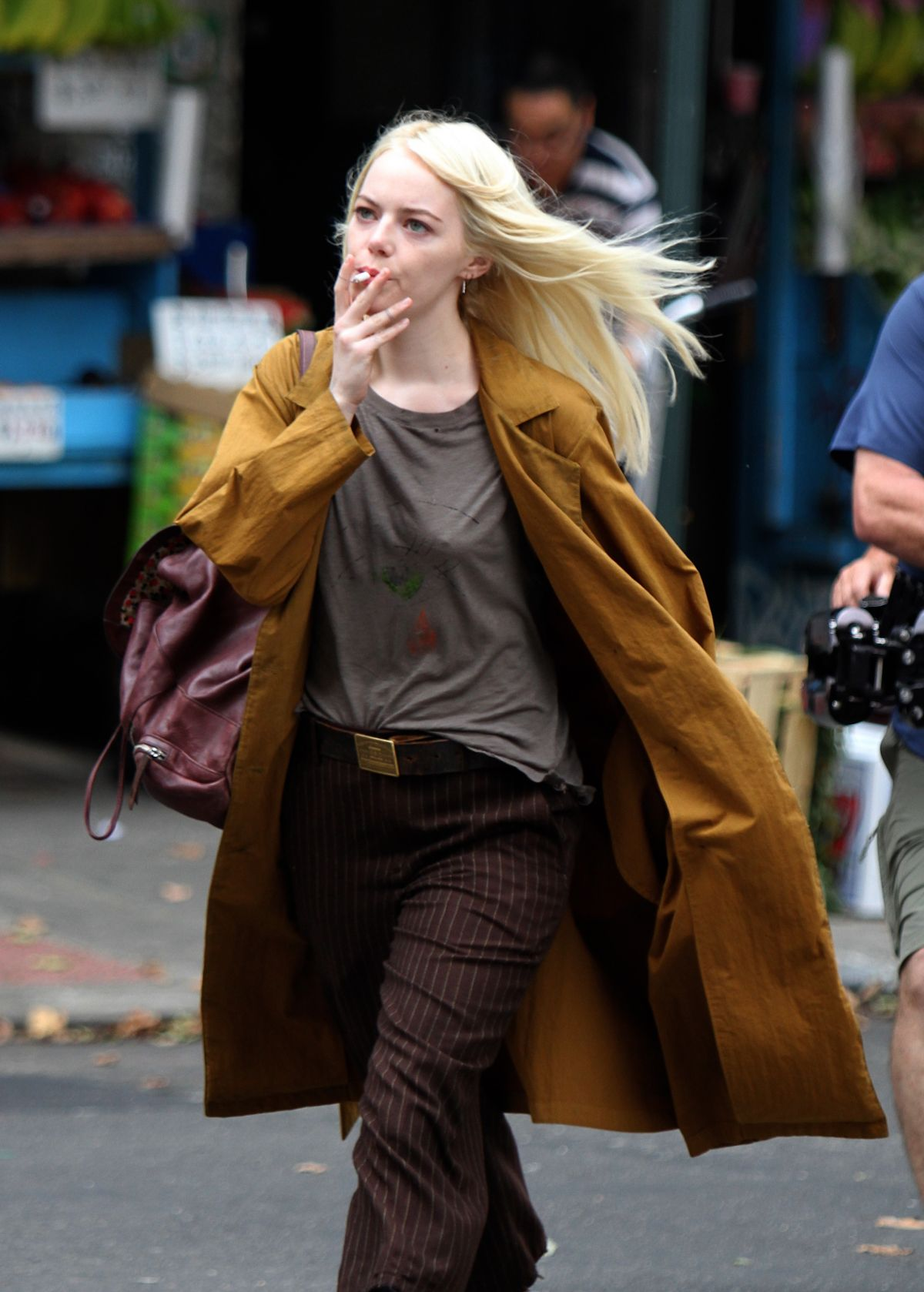 Emma stone shooting scenes on the set of maniac in long island nyc nudes (29 photos), Twitter Celebrites images
