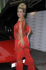 Ester Dee Arrives braless at the 'Ester Dee: All About the Beach' launch party in London