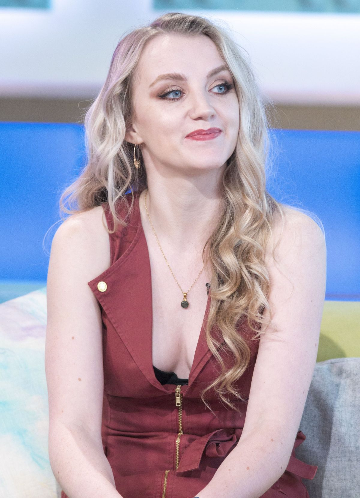 evanna lynch at sunday brunch show in london celebzz
