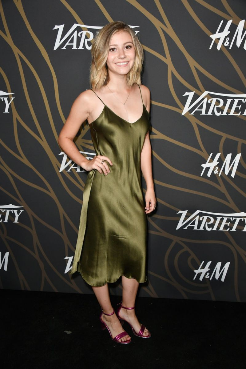 G Hannelius At Variety Power of Young Hollywood Event ... Katie Holmes