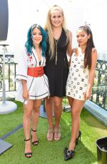Gabi DeMartino & Niki DeMartino At Beautycon Festival Weekend Revlon Kick-Off Brunch, The London, Los Angeles