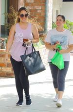Haylie Duff Starts her day with a workout,Studio City
