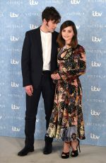 Jenna Coleman At the Victoria Season 2 red carpet photocall at the Ham Yard Hotel in London