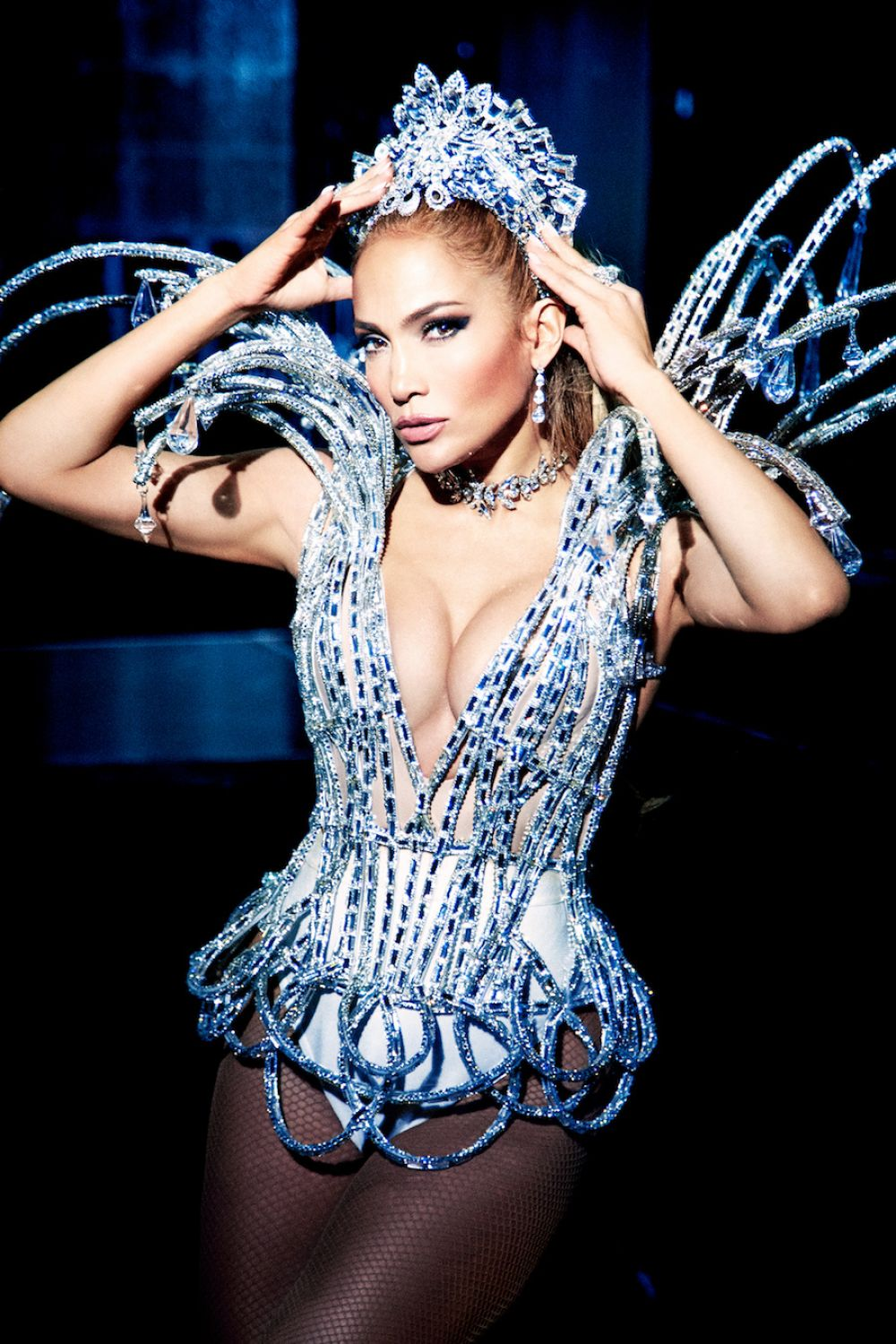 Jennifer Lopez At James White Photoshoot for Paper Magazine, 2017