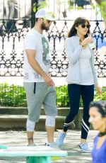 Jessica Biel At a playground in NYC