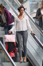 Jessica Cunningham At St Pancras Train Station in London
