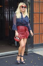 Jessica Simpson Leaving the Bowery Hotel in New York