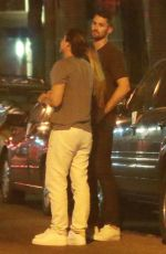 Kate Bock and her NBA baller boyfriend Kevin Love after during a night out in New York City