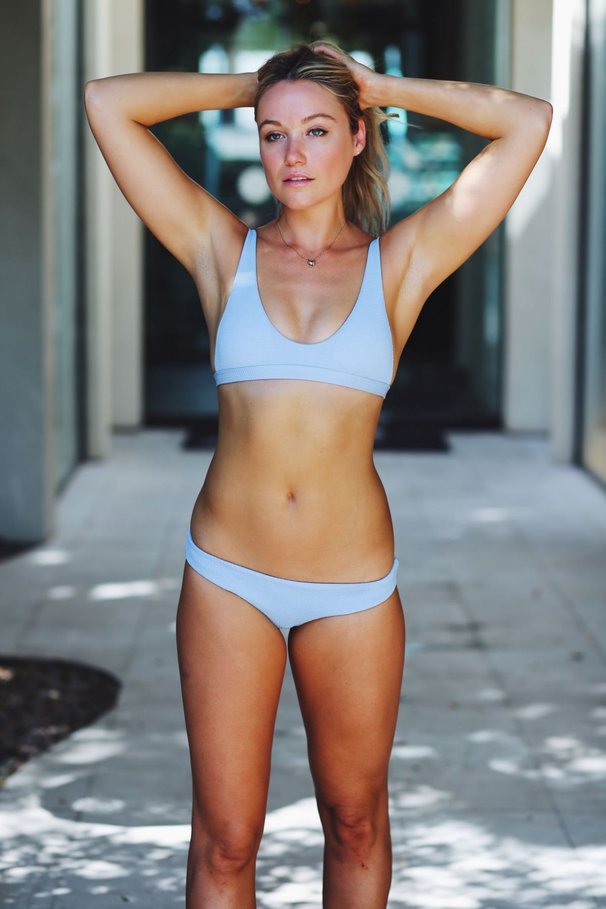 """Katrina Bowden For """"Find Your Motivation, And Hold On To It"""" August 2017"""
