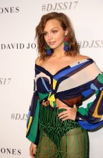 Ksenija Lukich At David Jones Fashion Show in Sydney, Australia