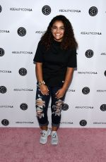 Laurie Hernandez At Beautycon Festival Los Angeles - Day 2