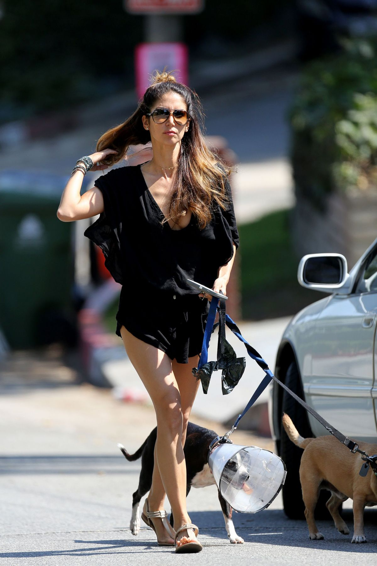 Leilani Dowding Out in Hollywood Hills