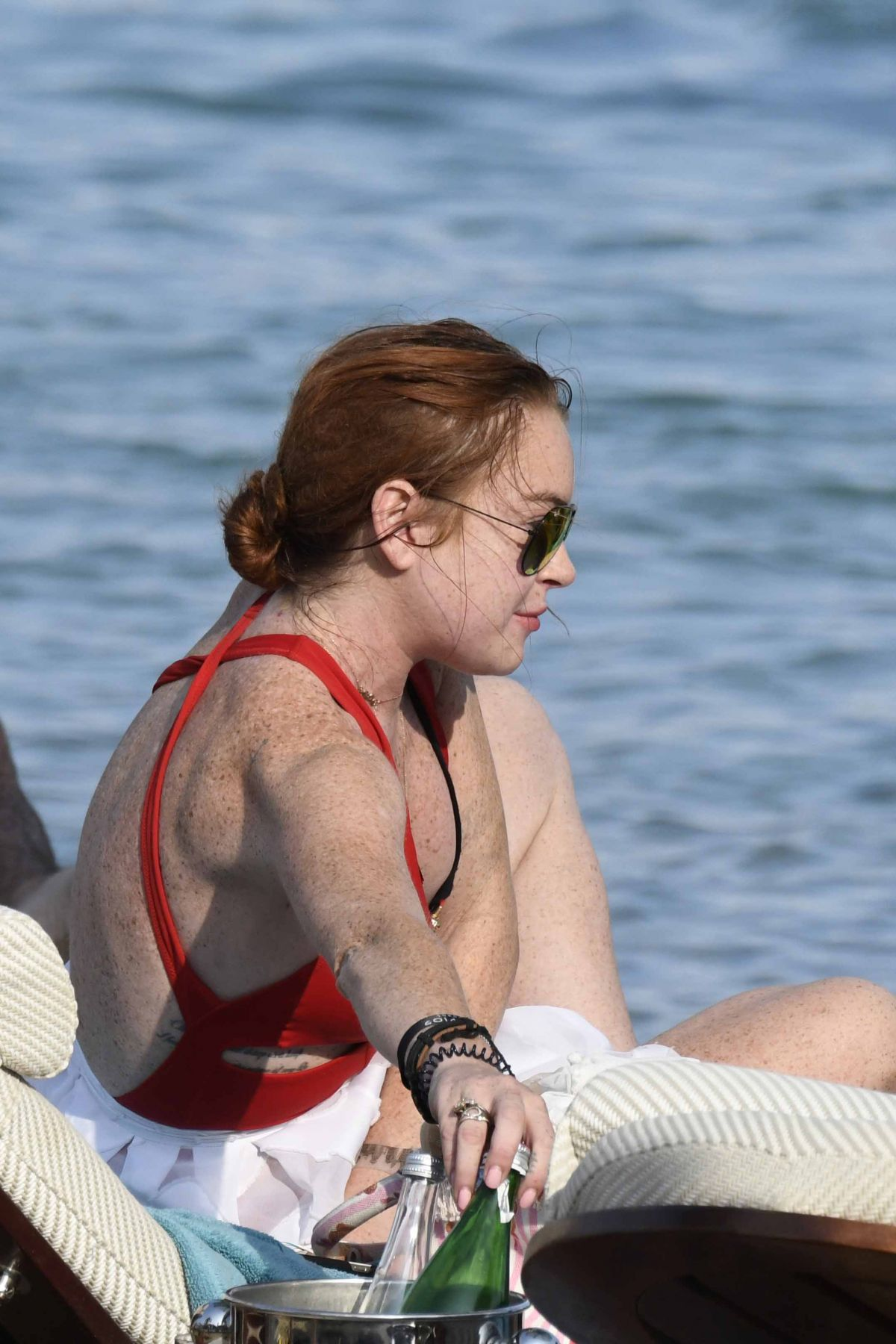 Lindsay Lohan: Actress Spotted With Mystery Man In