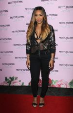 Malika Haqq At PrettyLittleThing x Olivia Culpo collection launch, Los Angeles