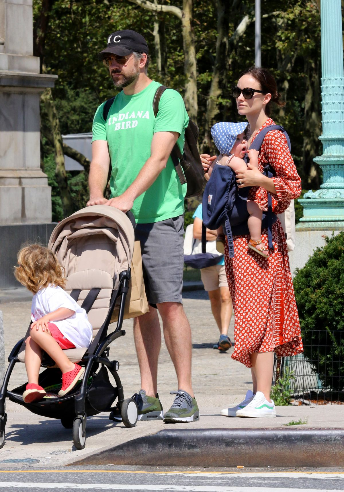 Kids And Teens Miss World The Most Beautiful Woman In The: Olivia Wilde Spends A Family Day With Jason Sudeikis And