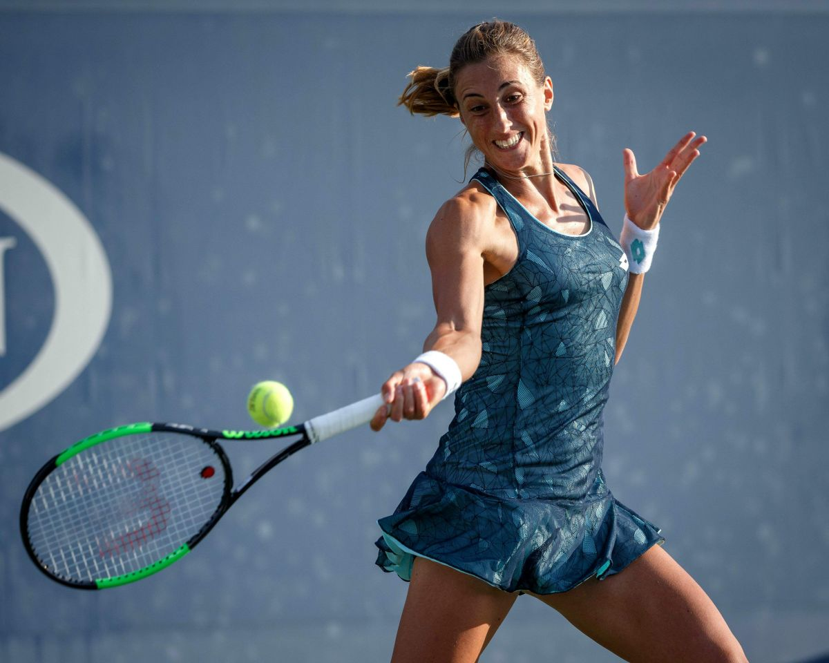 Petra Martic At 2017 US Open Tennis Championships - Day 3 ...