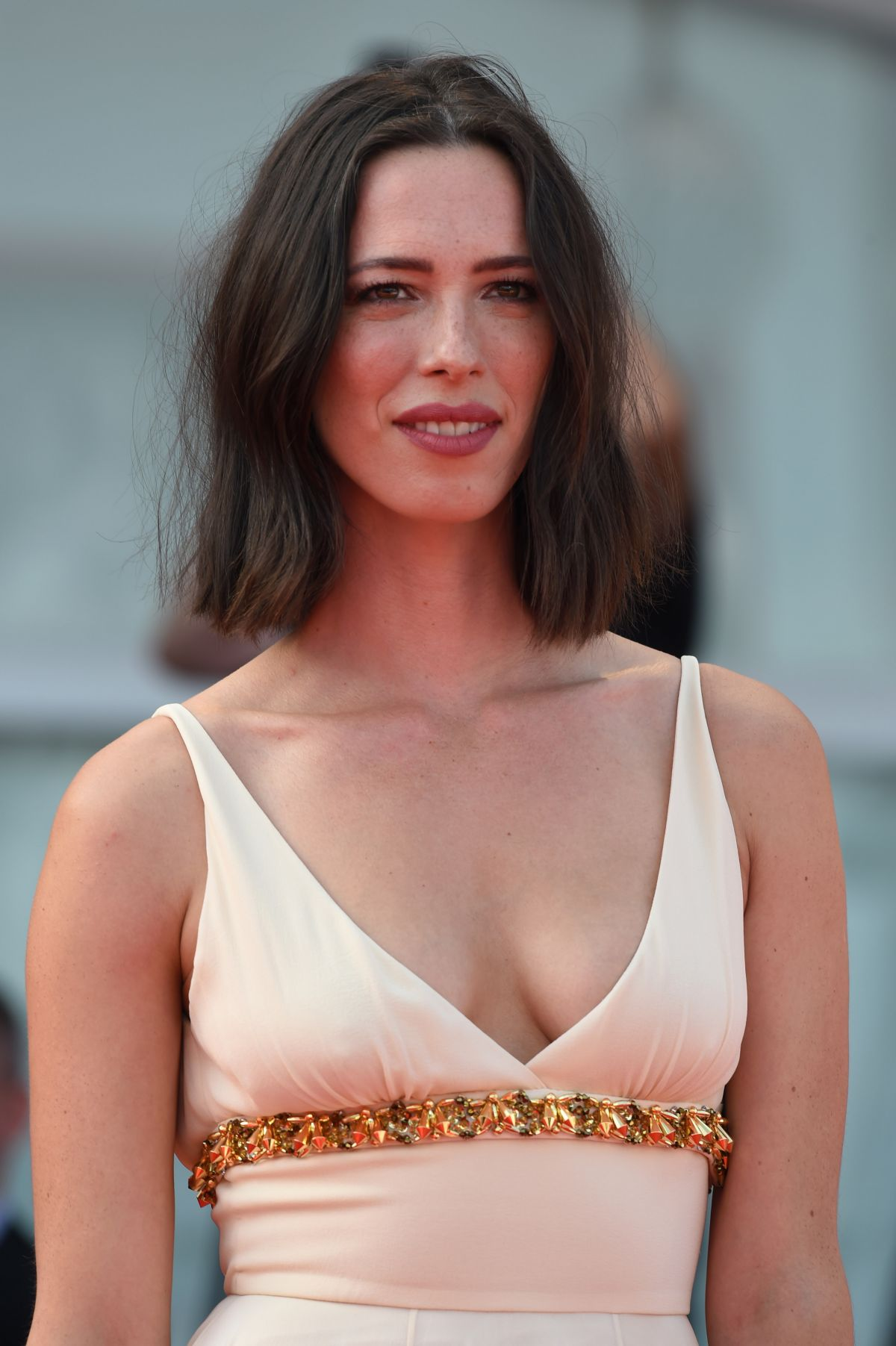 rebecca hall at the premiere of first reformed during